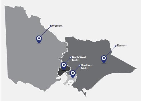 Victoria Police Divisional Regions