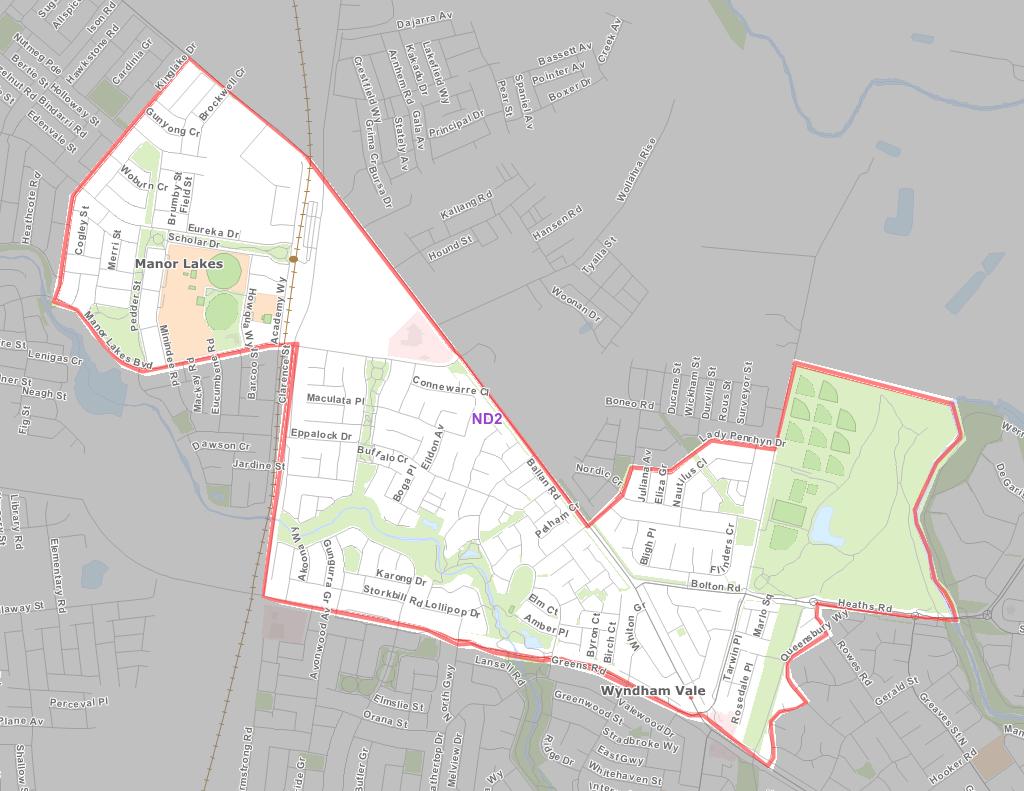 Wyndham area of operation